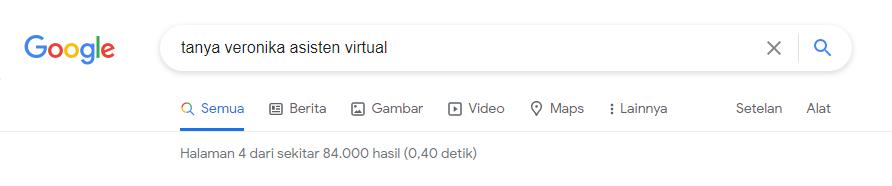Hasil Pencarian di Google Page 4
