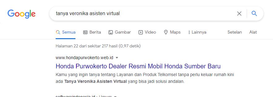 Hasil Pencarian di Google Page 21