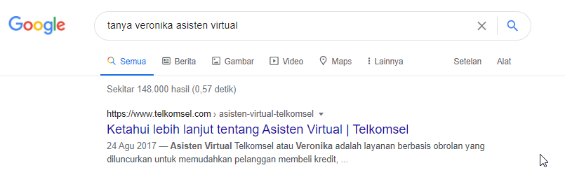 Kontes SEO tanya veronika asisten virtual