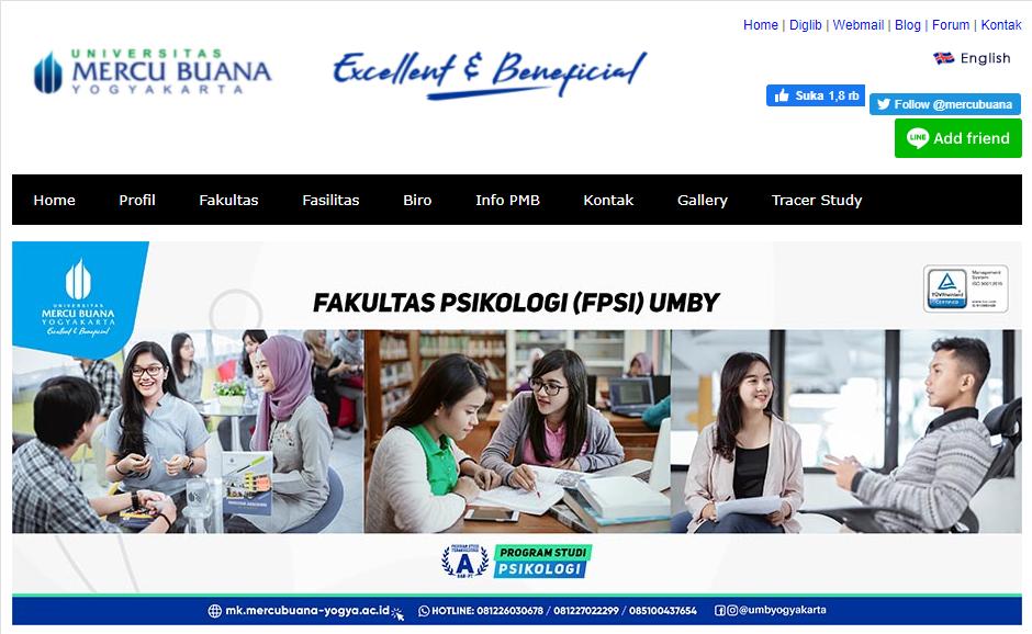 Universitas di Yogyakarta Swasta – UMBY