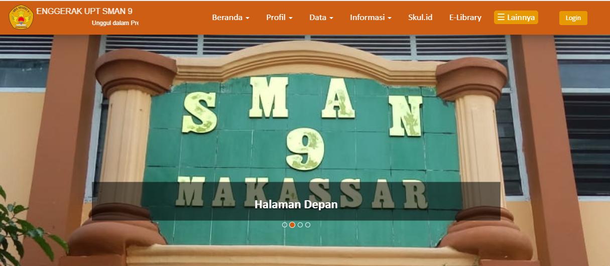Contoh Website Sekolah SMP dan SMA